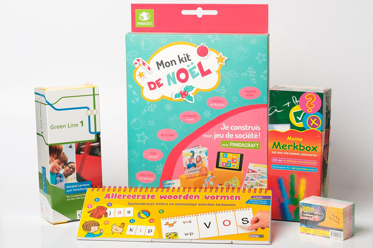 Self-learning products for kids
