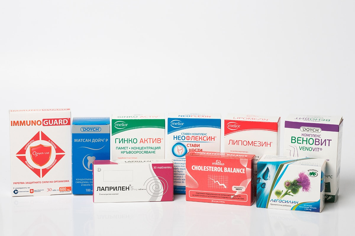 Cardboard packages for the pharmaceutical industry
